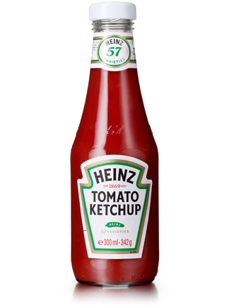 What's so fancy about ketchup, anyway? I have faith in mustard seeds ...