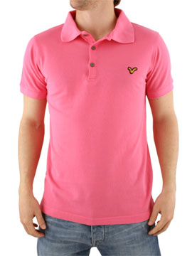 what to wear with a pink polo shirt