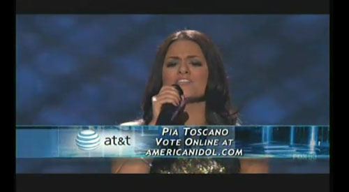 american idol pia voted off. I never rooted for Pia like I