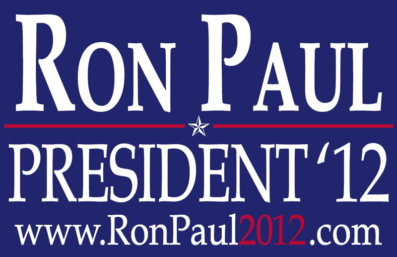 Ron paul is officially running for president in 2012 he announced it
