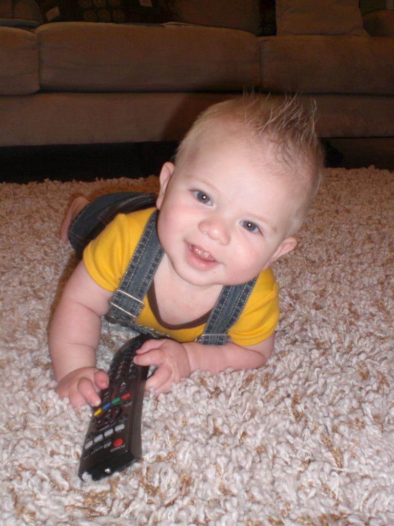 baby TV remote control