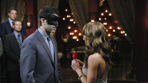 Jeff mask The Bachelorette