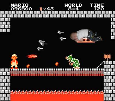 baby planking fad Super Mario Nintendo