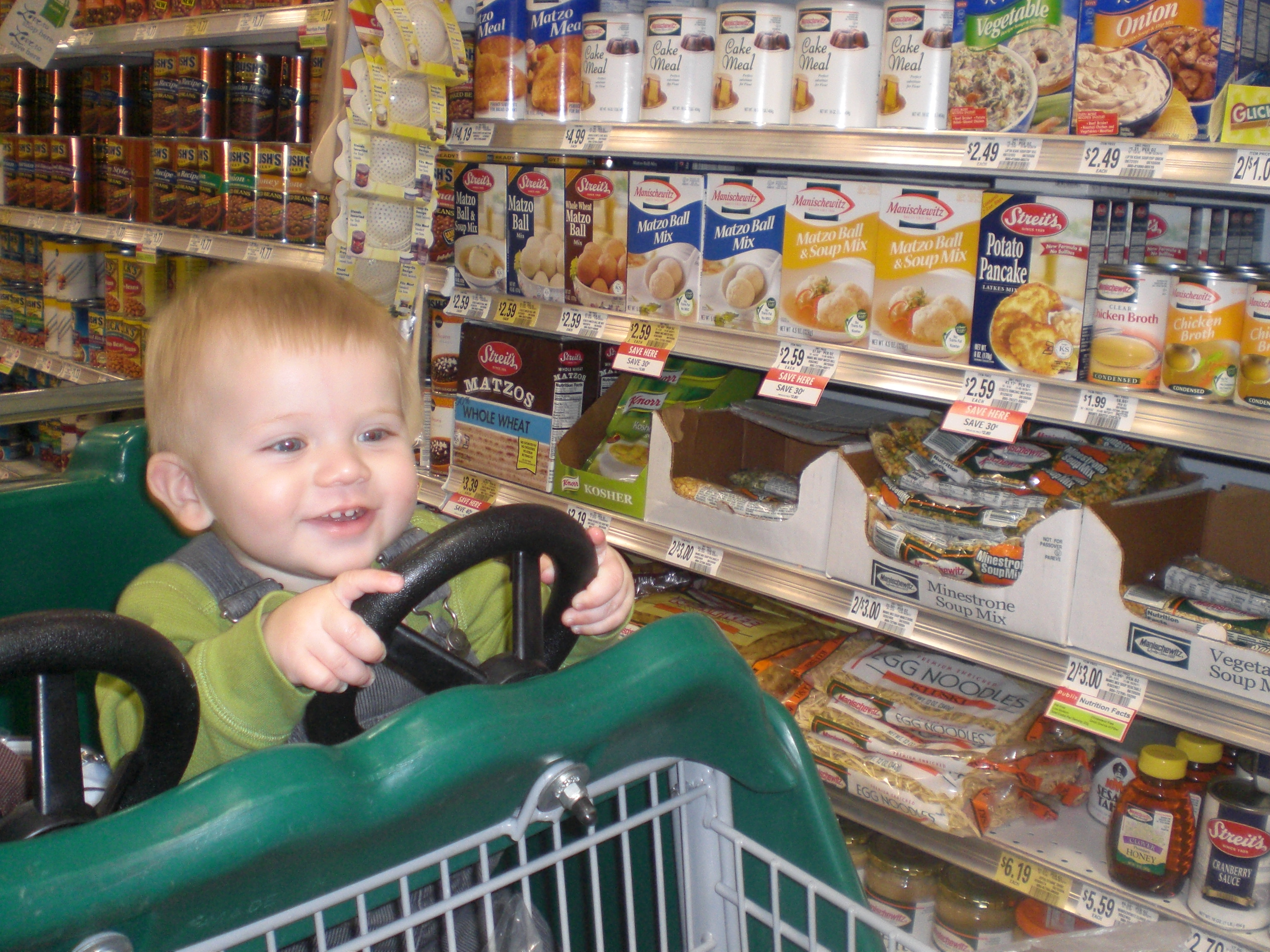 Grocery Shopping With A Toddler At Publix Family