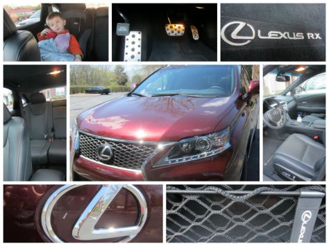 car review Lexus RX family friendly car review