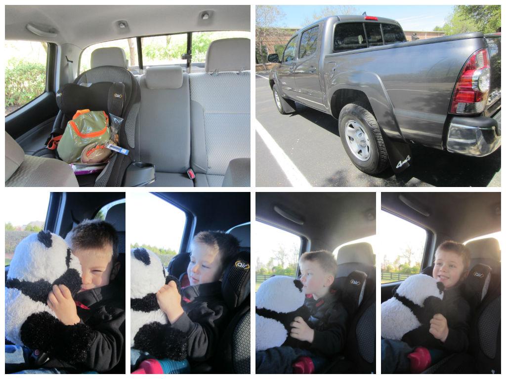 Pick Up Truck Car Seat Child