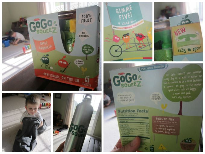 GoGo Squeez unboxing review vegan Family Friendly Daddy Blog review