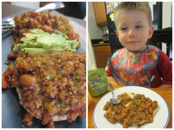 Vegan Sloppy Joes Pinto Beans Quinoa