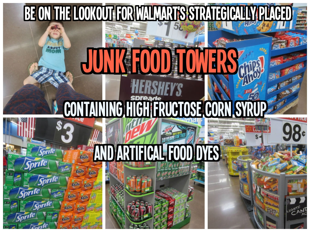 A High Fructose Corn Syrup, Artificial Food Dye Tour Of WalMart ...