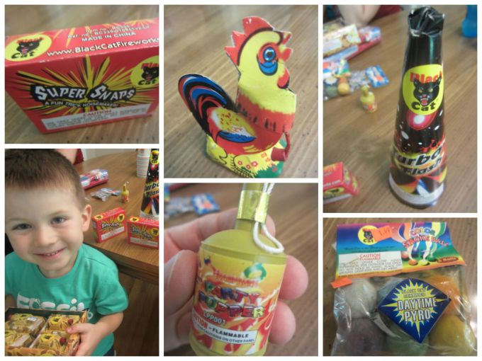 Review Of Suitable Fireworks For Small Children