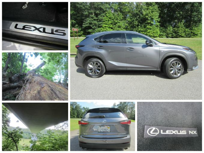 2015 Lexus NX Review/Preview Across The Natchez Trace Parkway Bridge