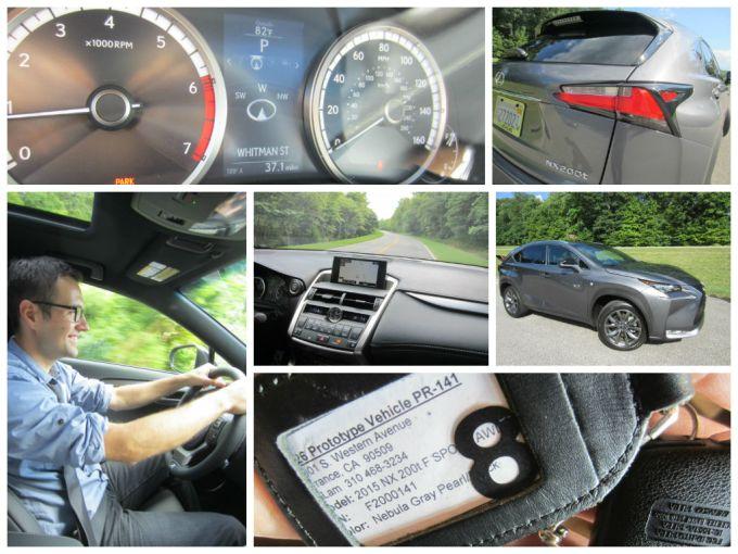 2015 Lexus NX Review/Preview Across The Natchez Trace Bridge