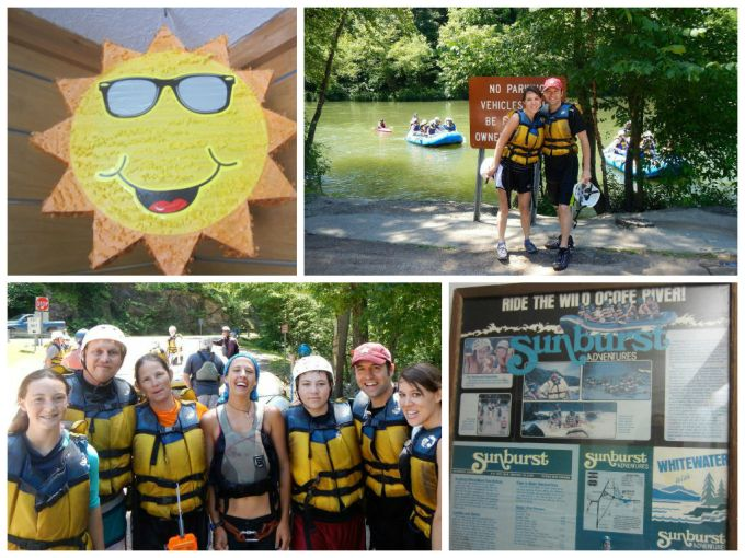 Review Of Sunburst Adventures Whitewater Rafting, Ocoee River