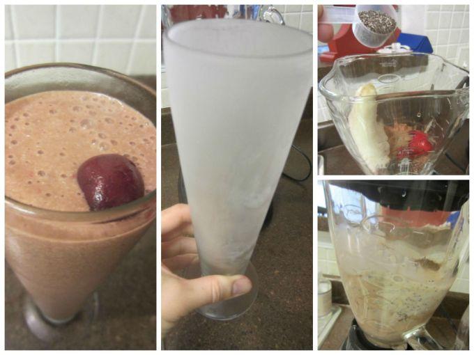 vegan banana split milkshake recipe Nick Shell