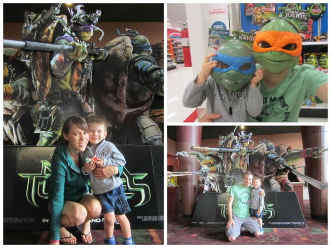 2014 Teenage Mutant Ninja Turtles movie theatre
