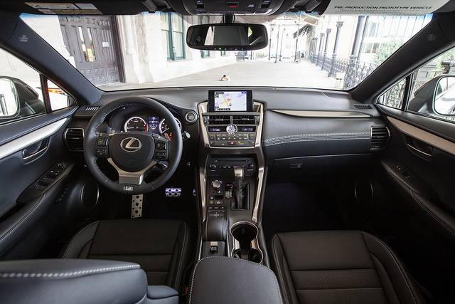 2015 Lexus NX: A Flickr Link To Professional Photos dashboard