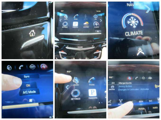 how to turn off/on AC on luxury vehicles