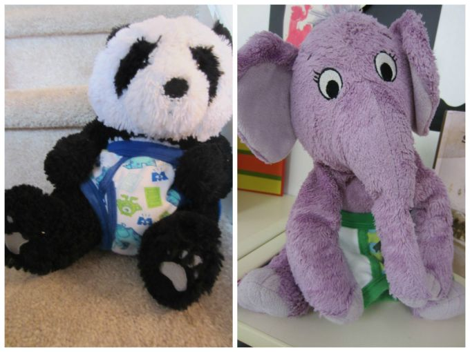 These Are The Days Of Stuffed Animals Wearing Underwear