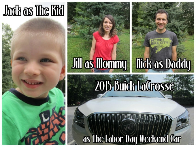 4G Equipped 2015 Buick LaCrosse: Labor Day Weekend Family Friendly Review