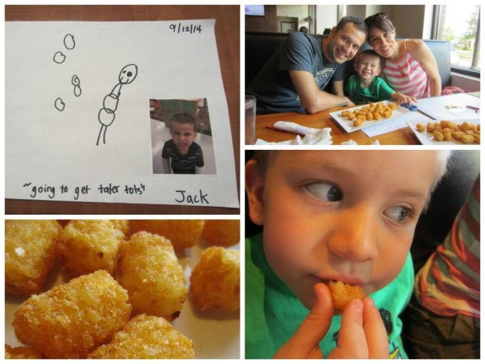 Going To Get Tater Tots Makes My Son Feel Special