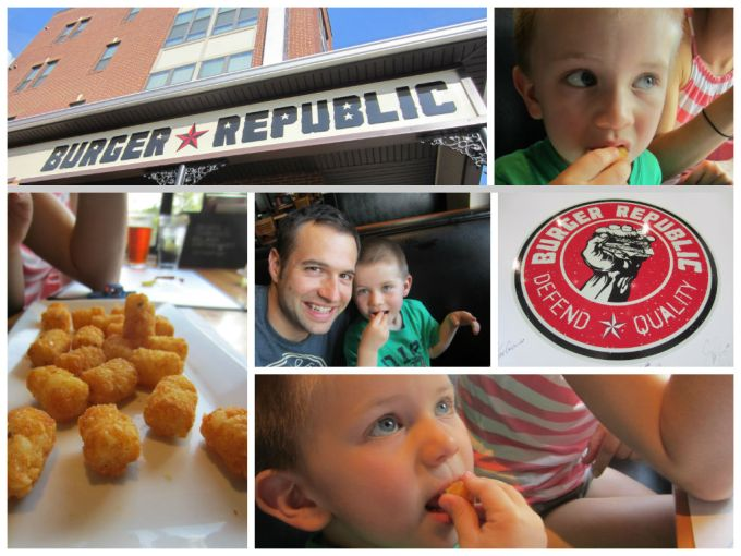 Going To Get Tater Tots Makes My Son Feel Special Burger Republic Nashville