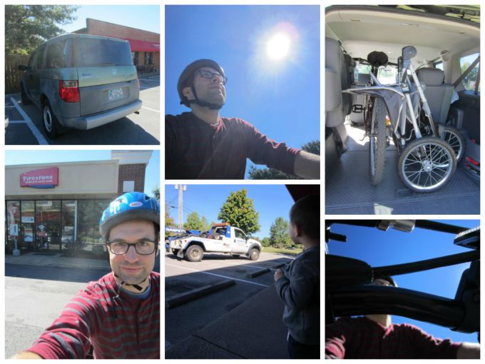 Car Trouble? Need A Tow? No Problem... I've Got A Mountain Bike!