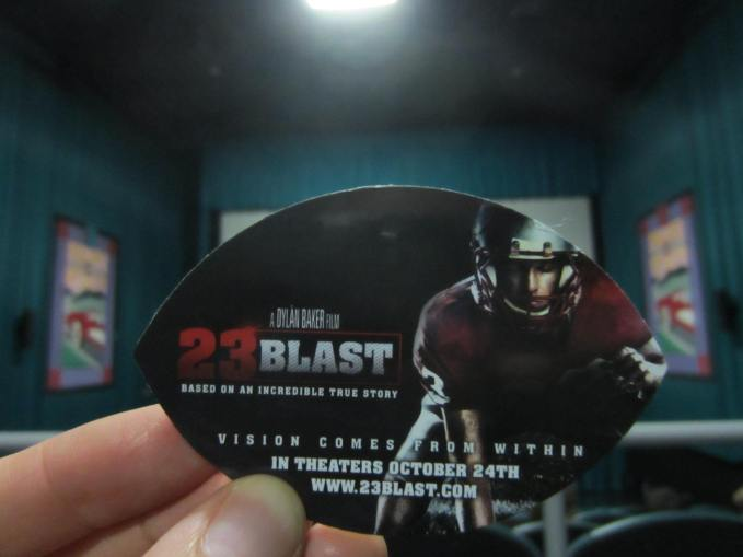 23 Blast: Family Friendly Movie Review By Nick Shell