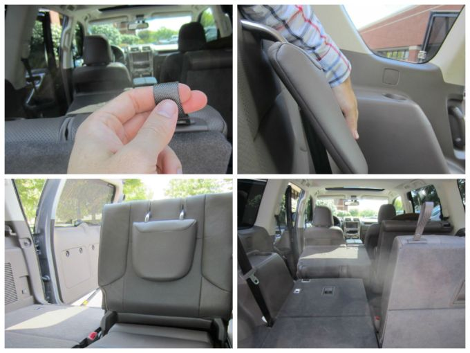 Folding Down/Up The 3rd Seats Of The 2014 Lexus GX 460