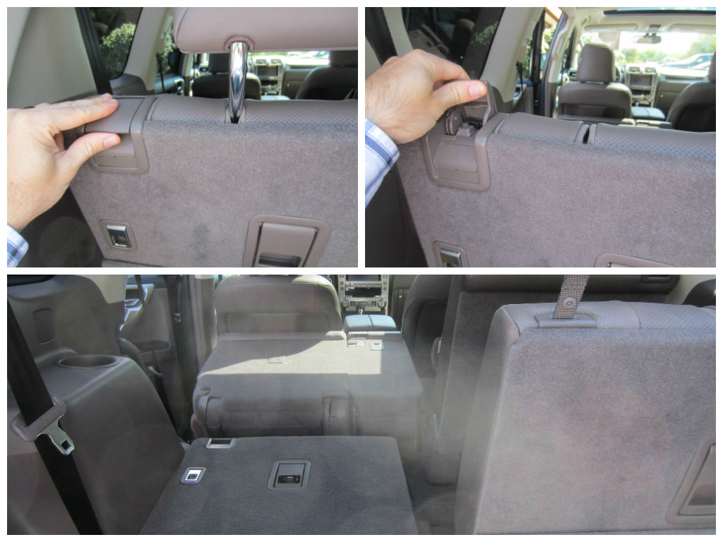 Folding Down/Up The 3rd Seats Of The 2014 Lexus GX 460   Family ...
