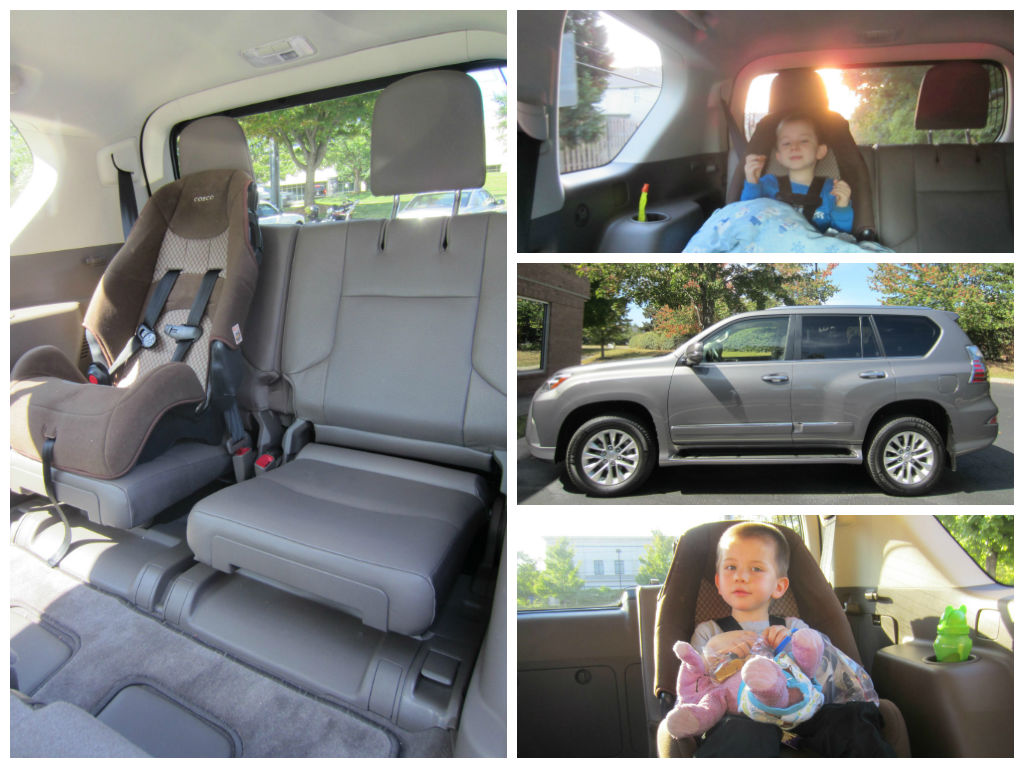 Folding Down Up The 3rd Seats Of The 2014 Lexus Gx 460 Family