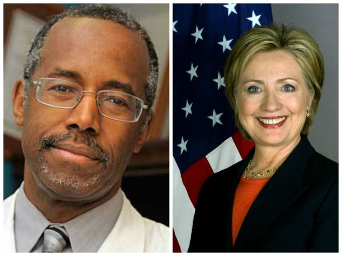 Ben Carson vs. Hillary Clinton 2016