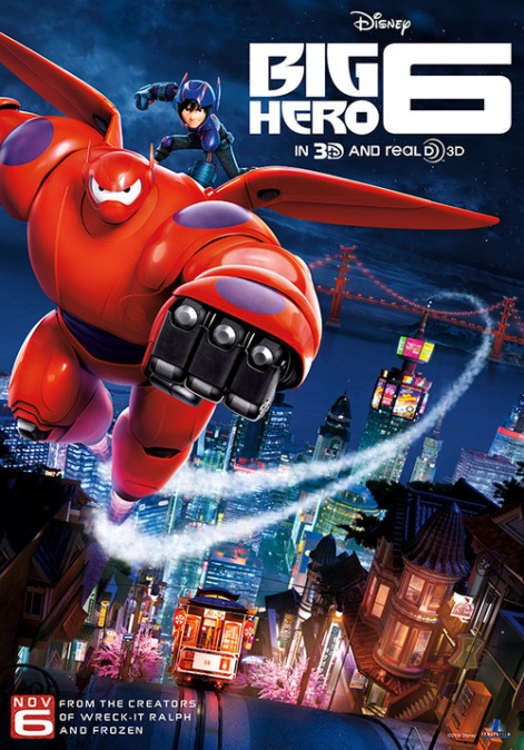 Disney's Big Hero 6: Family Friendly Review (Please Take Your Son To See It!)r