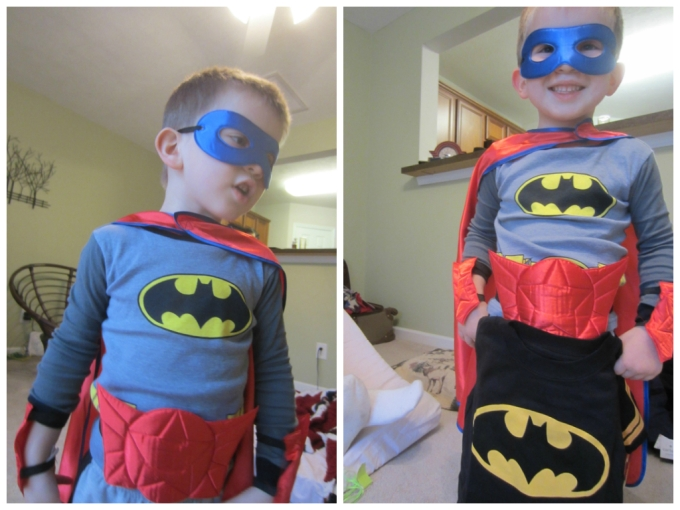 Dear Jack: Dressing Yourself As A Super Hero To Open Your Gifts From Family
