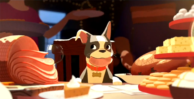 Feast, The Animated Short That Plays Before Big Hero 6: Family Friendly Review