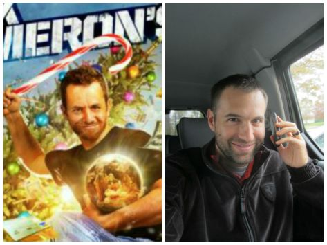 Kirk Cameron and Nick Shell