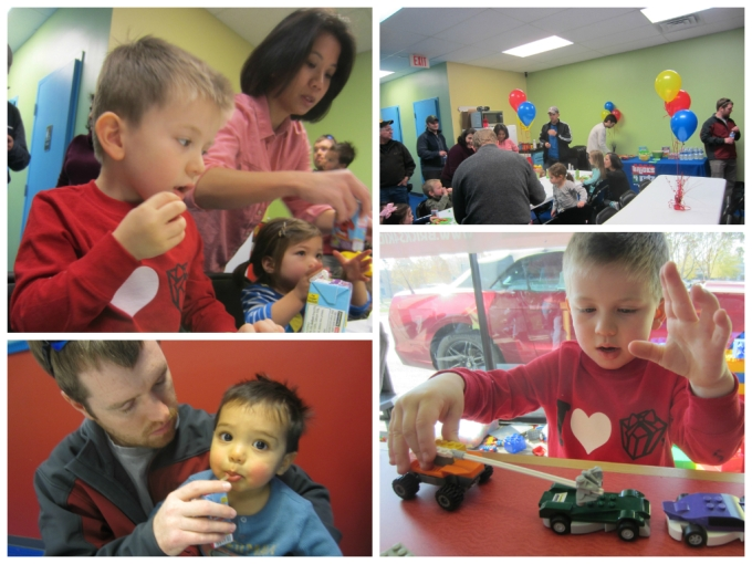 "Dear Jack: Your ""No Artificial Anything"" Lego-Themed 4th Birthday Party"