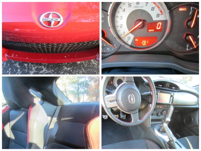 2014 Scion FR-S: How To Shift In Reverse/Size Of Back Seat/Toyota Subaru Engine