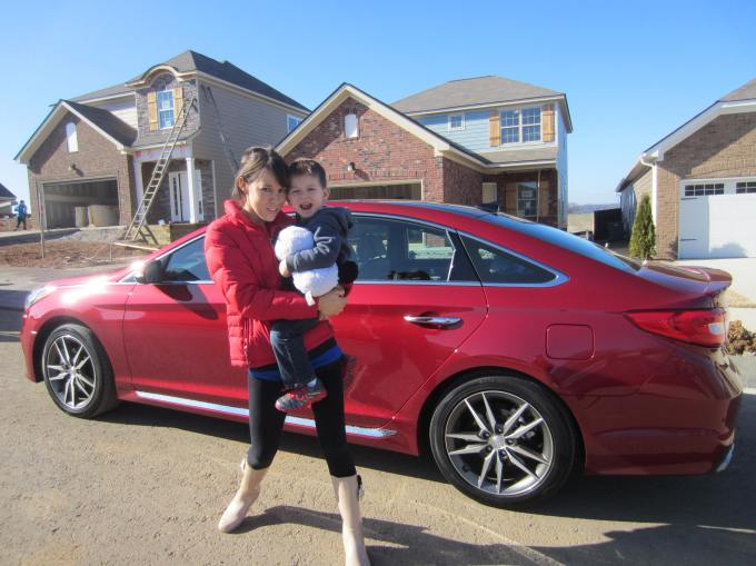 Dear Jack: Our New House Now Has Electricity & Tile (2015 Hyundai Sonata Weekend)