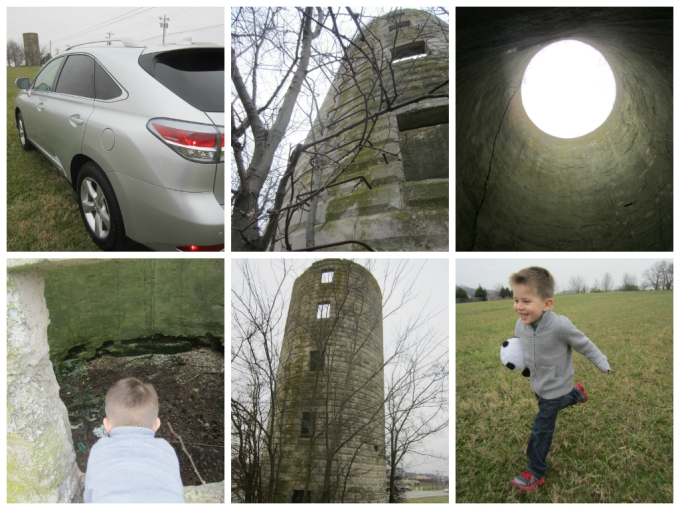 Dear Jack: The Old Abandoned Silo Tower On Main Street in Spring Hill, TN (Lexus RX 450h Weekend)