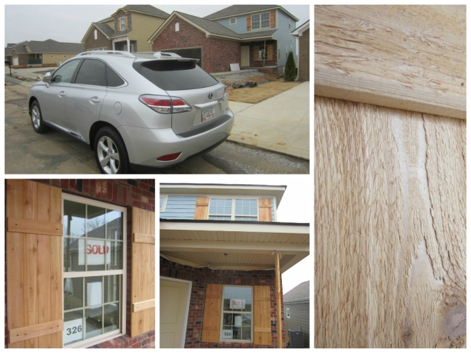 Dear Jack: Our New House's Shutters, Mailbox, & Interior Paint (Lexus RX 450h Weekend)