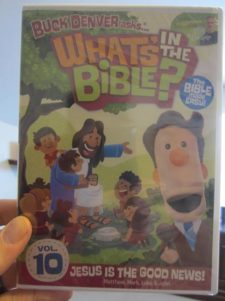 What's in the Bible? Volume 10: Jesus is the Good News DVD