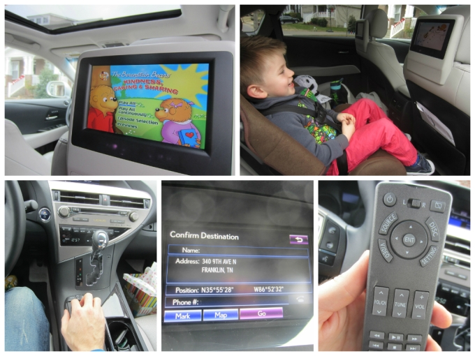2014 Lexus RX 450h 5-DR SUV (DVD Player Equipped): Family Friendly Review