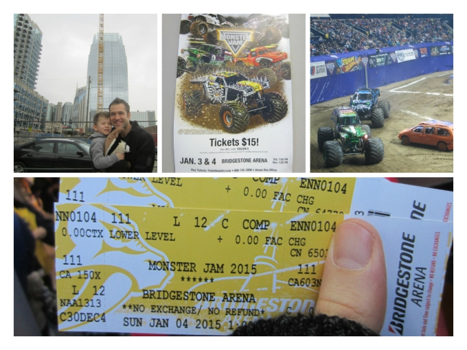 Dear Jack: Monster Jam 2015 in Nashville- Family Friendly Review