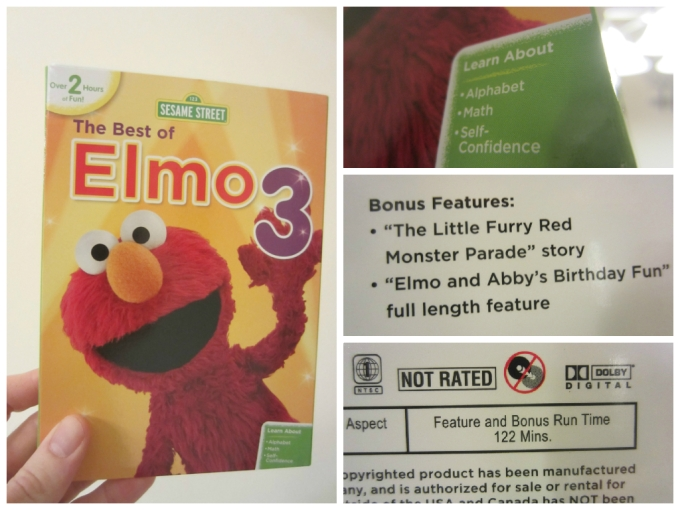 Review Of Sesame Street: The Best Of Elmo 3 DVD