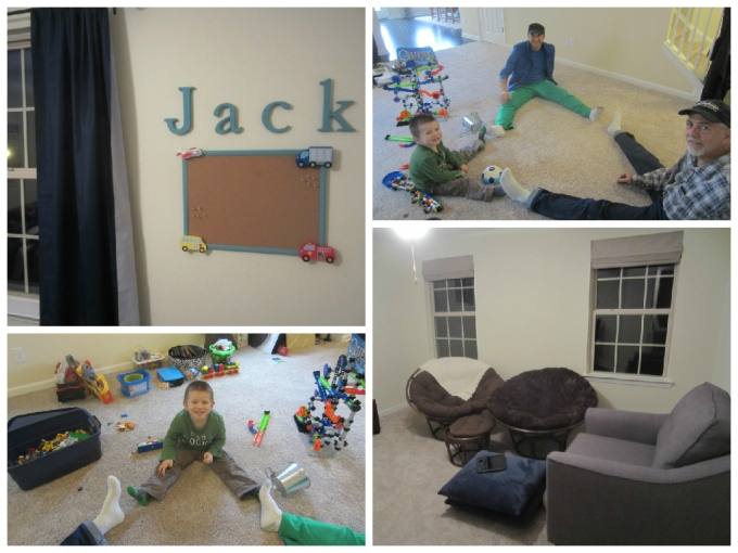 Dear Jack: The 2nd Week Of Living In Our New House