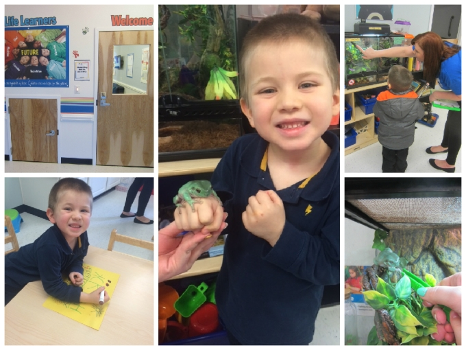Dear Jack: Your 1st Week At Your New Preschool- Rainbow Child Care Center