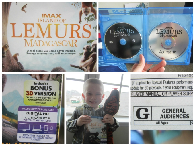 Family Friendly Review of IMAX Island of Lemurs Madagascar