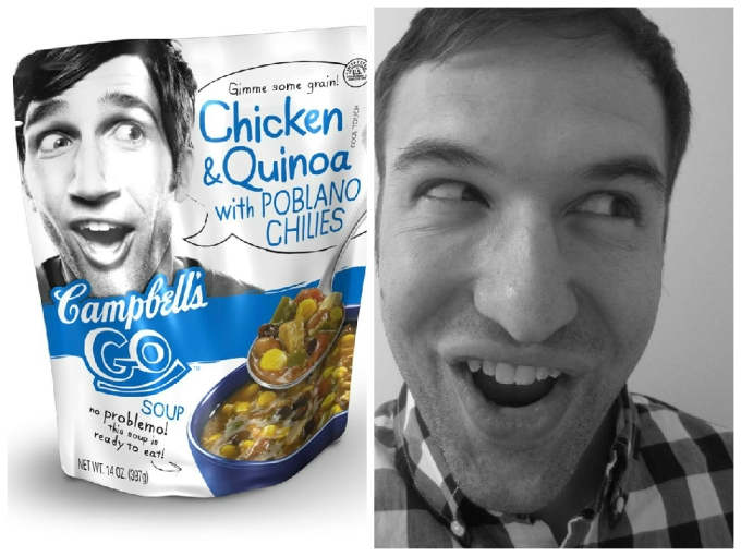 Am I The Guy From The Go Campbell's Chicken & Quinoa With Poblano Chilies Package?