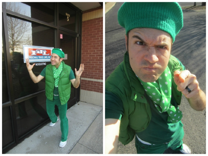 Dear Jack: Why I Dressed Like This On St. Patrick's Day