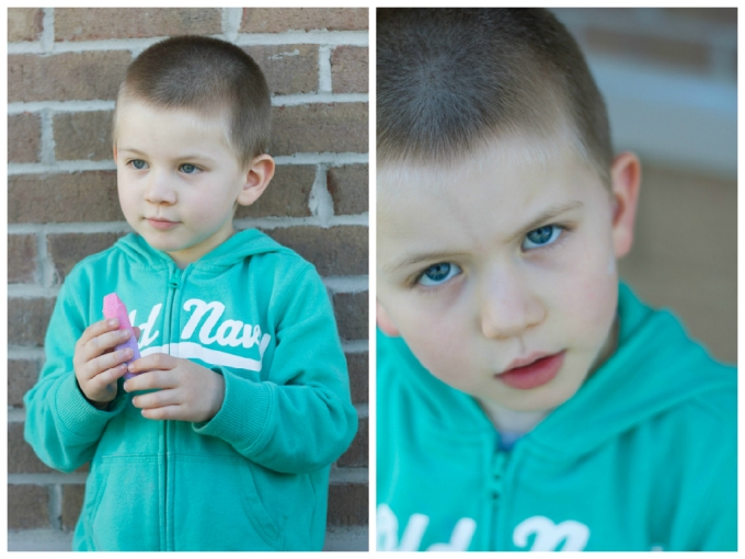 Dear Jack: Your First Soccer Game/Grumpy Face At School